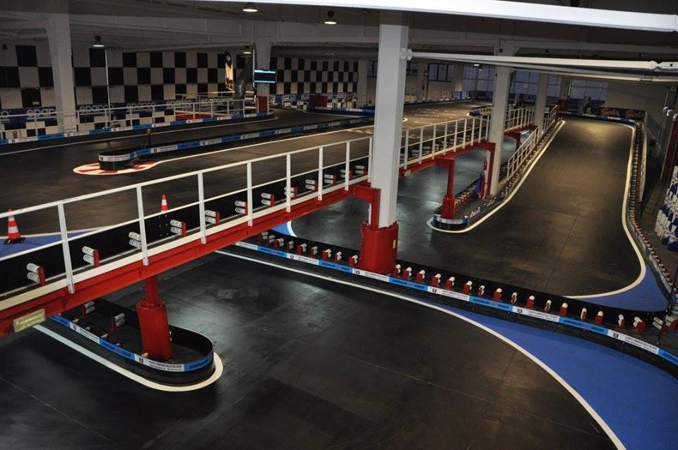 Circuit de karting Adrenaline Kart Indoor Asti Italie