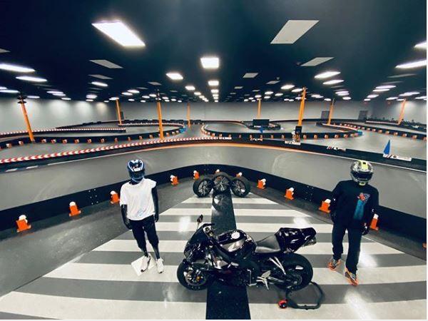 Piste de karting indoor Adrenaline Rush Leesburg États Unis