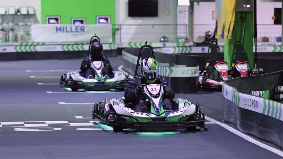 Kart track Ecodrom Neu-Ulm Germany