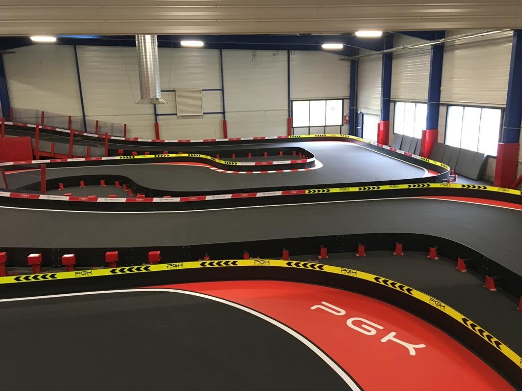 Piste de karting indoor Games Factory Besançon France