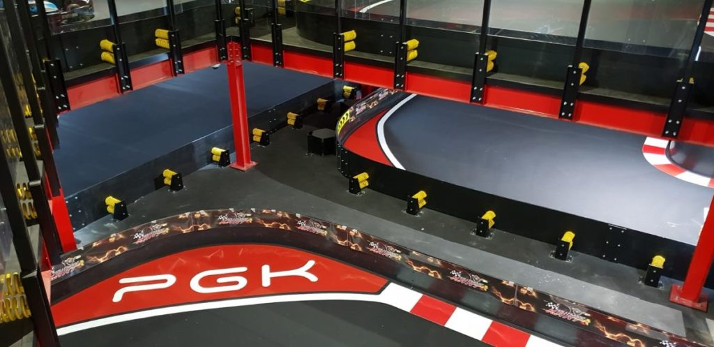 Piste de karting indoor Hollywood Kart Erba Italy