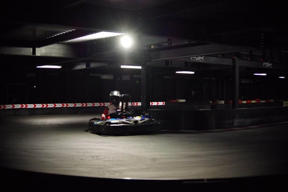Pista go kart indoor John Martin's Karting Floreffe Belgio