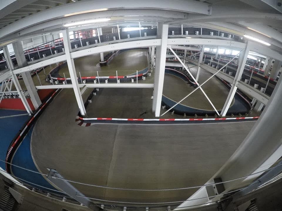 Circuit de karting indoor Kart-Palast Bergkirchen Allemagne