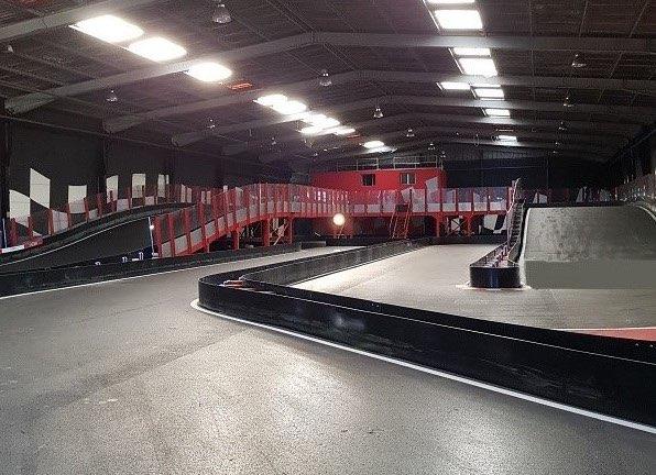 piste de karting indoor Kart up Vitrolles Vitrolles France