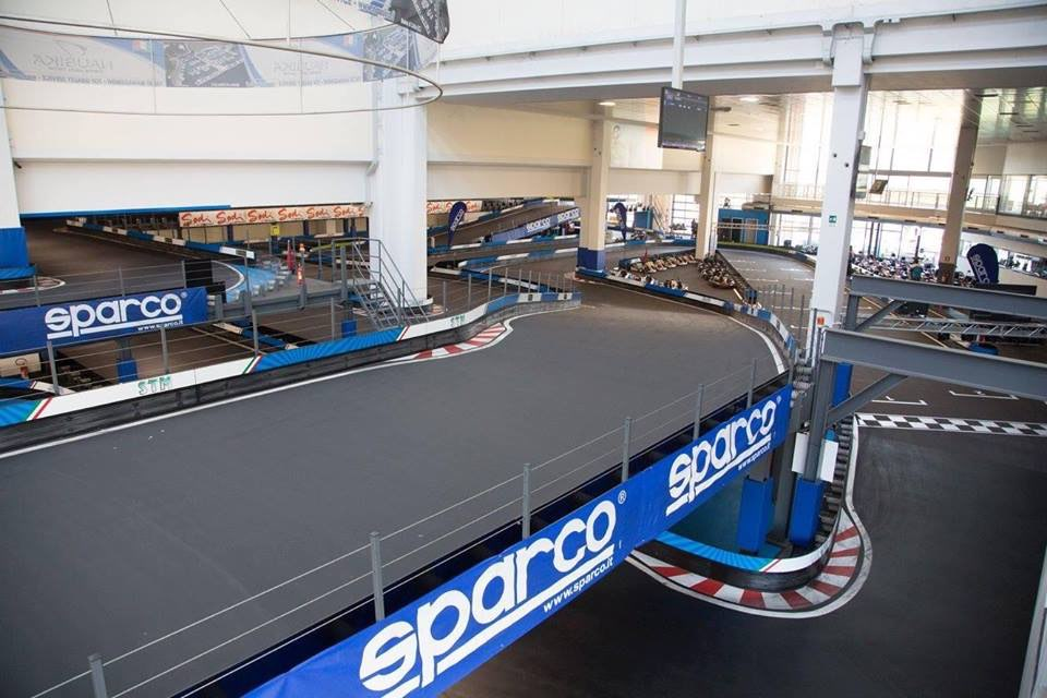 Circuit de karting indoor Lario Motorsport Colico Italie