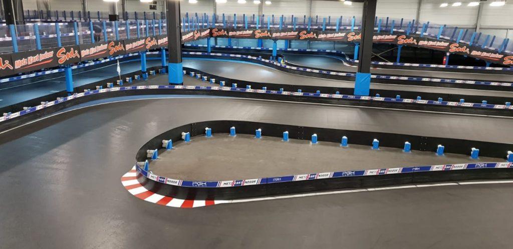 piste de karting indoor Metz Kart Indoor Augny France