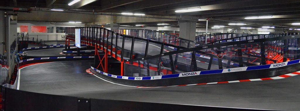Pista go kart indoor Monza World Class Karting Mashantucket Stati Uniti D'America