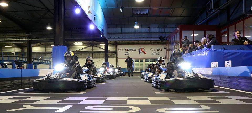 kartodromo indoor Only Kart Lyon Dagneux Francia