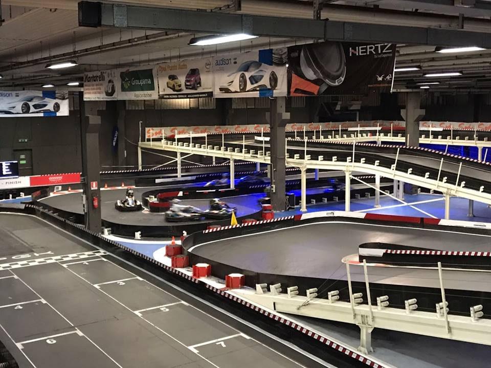 Circuit de karting indoor PGKart Indoor Camerano Italie