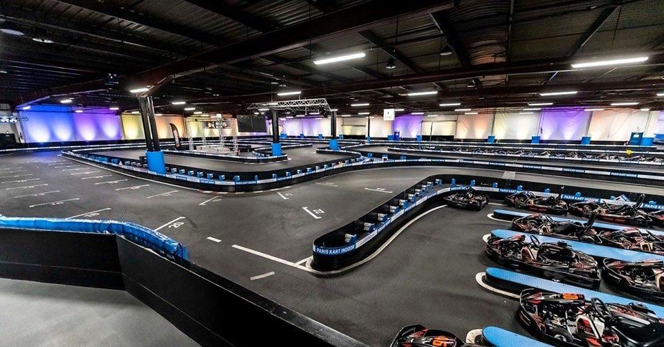 Circuito go kart Paris Kart Indoor Parigi Francia