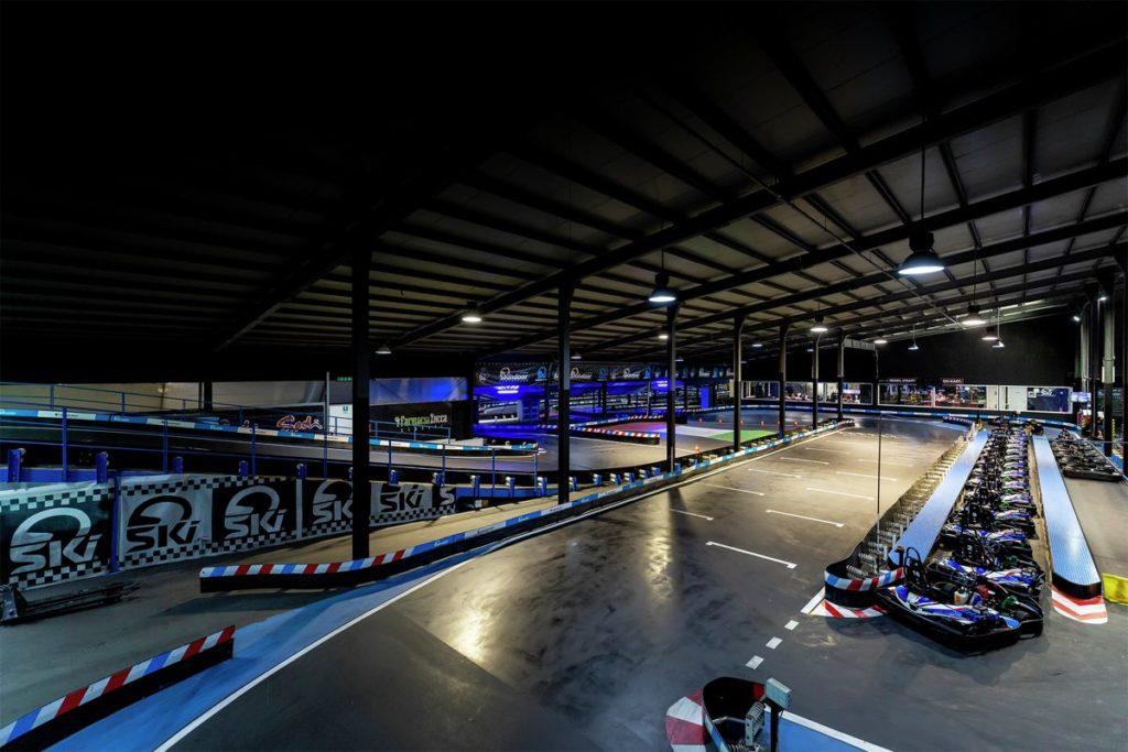 Piste de karting indoor Skindoor Monastir Italie