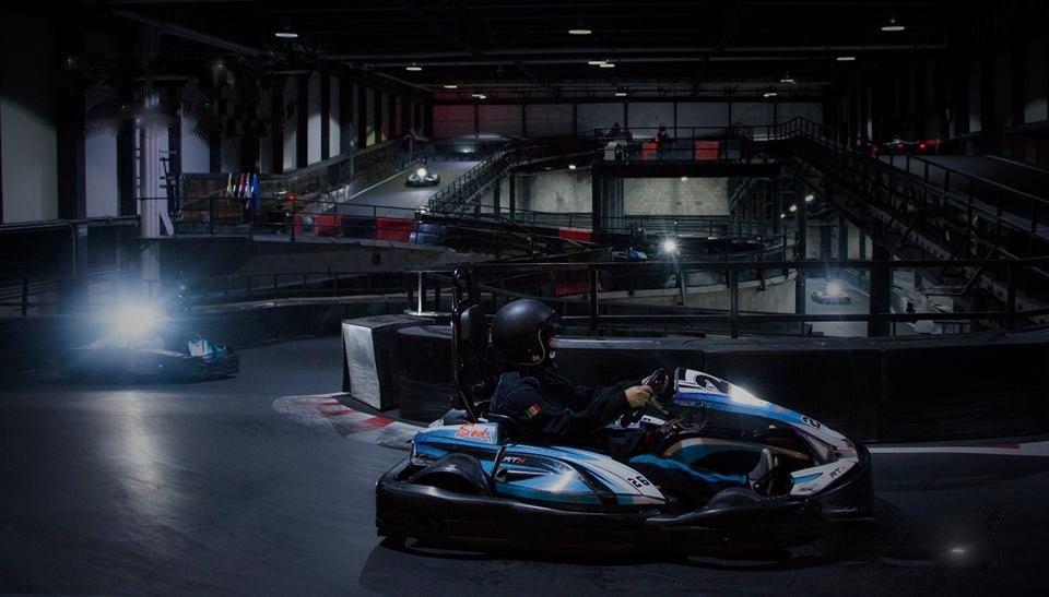 circuit de karting indoor Volta Racing Labs Zapopan Mexique