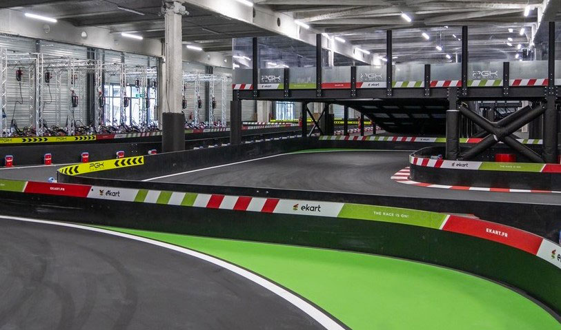 Circuit de karting indoor eKart Caen Caen France