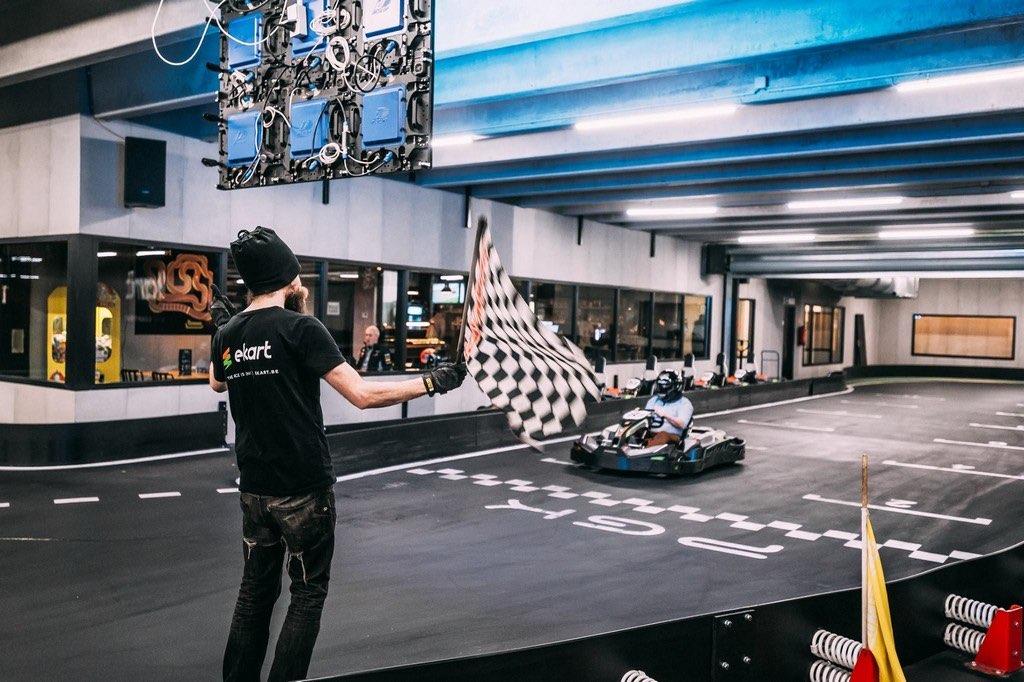 Circuit de karting indoor eKart Gent Gent Belgique