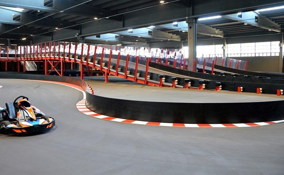 Piste de karting indoor eMotion Meda Meda Italie